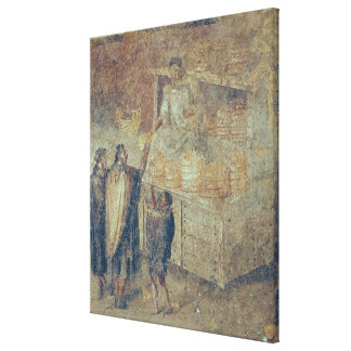 The Baker's Shop, from the 'Casa del Canvas Print