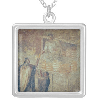 The Baker's Shop, from the 'Casa del Square Pendant Necklace