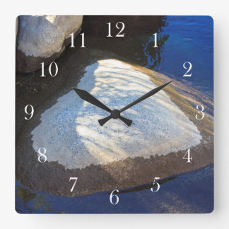 The Balance of Love Square Wall Clock