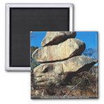 The Balancing Rocks, Harare, Zimbabwe rock formati Refrigerator Magnet