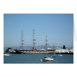 The Balclutha - San Francisco, Hyde Street Pier Card