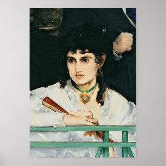 The Balcony, 1868-9 (oil on canvas) Print