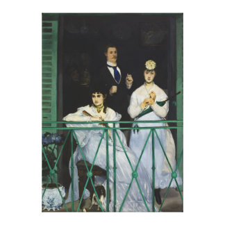 The Balcony by Edouard Manet Canvas Print