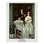 The Balcony By Edouard Manet Posters