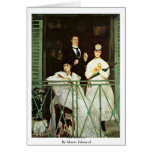 The Balcony By Manet Edouard Greeting Cards