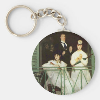 The Balcony - Edouard Manet Keychain