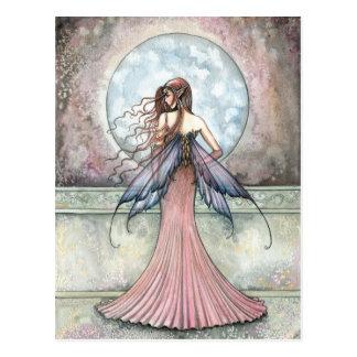 The Balcony Fairy Postcard by Molly Harrison