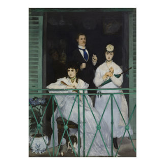 The Balcony Painting by Édouard Manet Extra Large Posters