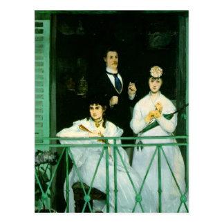 The Balcony Postcard