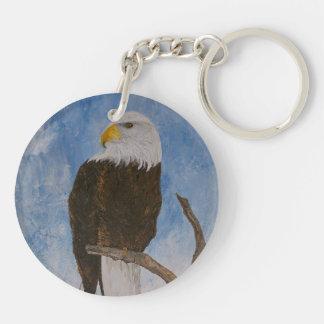 The Bald Eagle Keychain