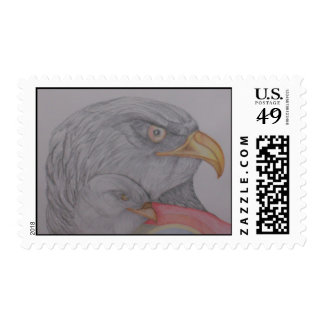 The Bald Eagles Postage