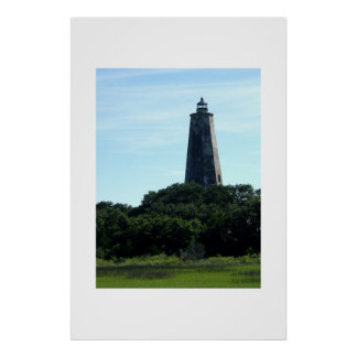 The Bald Head Island Lighthouse Poster