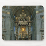 The Baldacchino, the high altar and the chair Mouse Pad