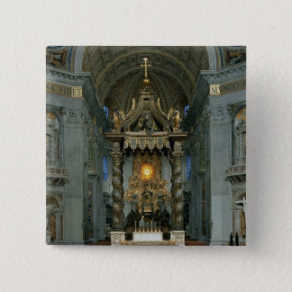 The Baldacchino, the high altar and the chair Pinback Button