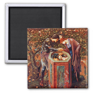 The Baleful Head 2 Inch Square Magnet