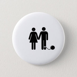 "The ""Ball and Chained"" groom Button"