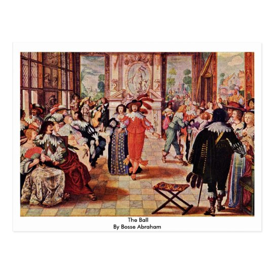 The Ball By Bosse Abraham Postcard