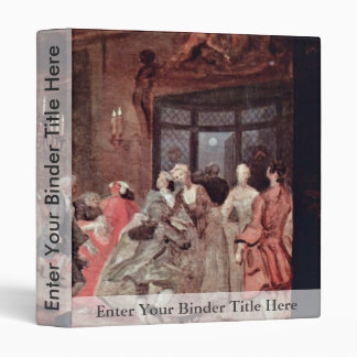 """The Ball """" By Hogarth William (Best Quality) 3 Ring Binders"""