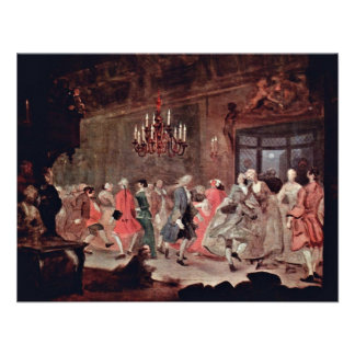 "The Ball "" By Hogarth William (Best Quality) Announcement"