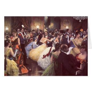 The Ball by Julius LeBlanc Stewart Greeting Card