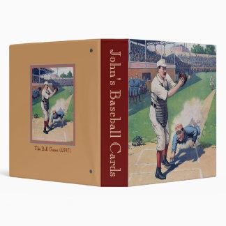 The Ball Game (1897) 3 Ring Binder