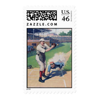 The Ball Game Stamp