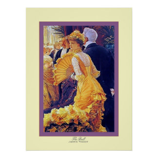 The Ball ~ James Tissot ~ Fine Art Poster