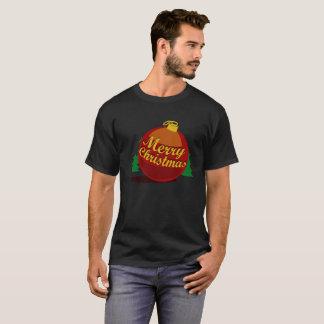 The Ball of Christmas Black Version T-Shirt