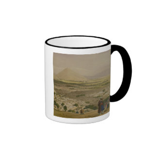 The Balla Hissar and City of Caubul, from the Uppe Ringer Coffee Mug