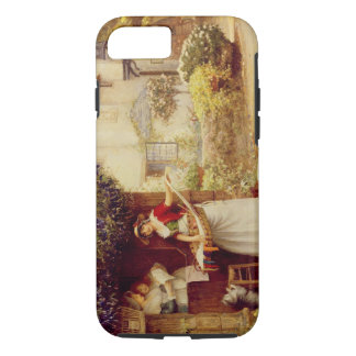 The Ballad Seller, 1902 (oil on board) iPhone 7 Case