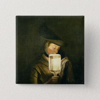 The Ballad Singer, c.1764 (oil on canvas) Pinback Button