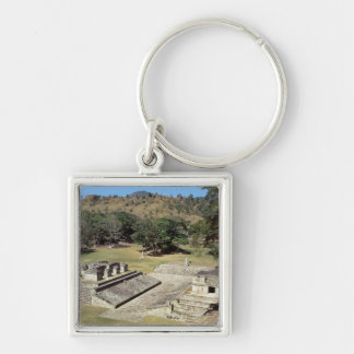 The Ballcourt in the Main Square, Classic Period Keychain