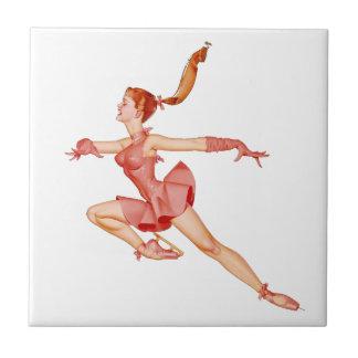 THE BALLERINA (Ballet Dancer) ~ Tile