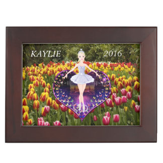 The ballerina butterfly princess keepsake box