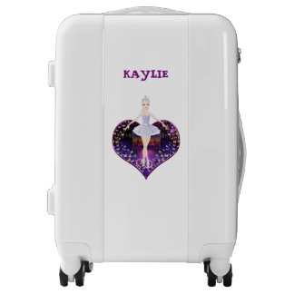 The ballerina butterfly princess luggage