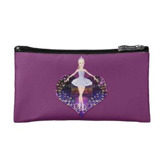 The ballerina butterfly princess makeup bag