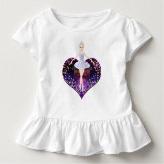 The ballerina butterfly princess toddler t-shirt