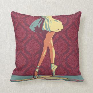 The Ballerina Throw Pillows