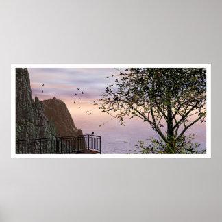 The Ballester Lookout Landscape Poster