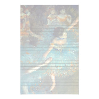The Ballet Dancer in Green Stationery