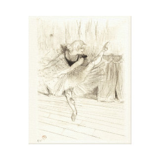 The Ballet Dancer, Toulouse-Lautrec Canvas Print
