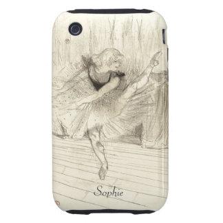 The Ballet Dancer, Toulouse-Lautrec iPhone 3 Tough Covers