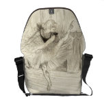 The Ballet Dancer, Toulouse-Lautrec Courier Bag at Zazzle