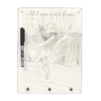 The Ballet Dancer, Toulouse-Lautrec Dry Erase White Board