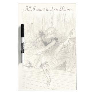The Ballet Dancer, Toulouse-Lautrec Dry-Erase Whiteboards