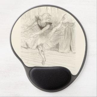 The Ballet Dancer, Toulouse-Lautrec Gel Mouse Pad