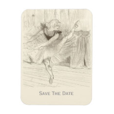 The Ballet Dancer, Toulouse-lautrec Magnet at Zazzle