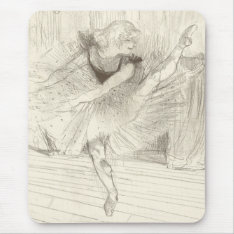The Ballet Dancer, Toulouse-lautrec Mouse Pad at Zazzle