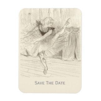 The Ballet Dancer, Toulouse-Lautrec Magnet