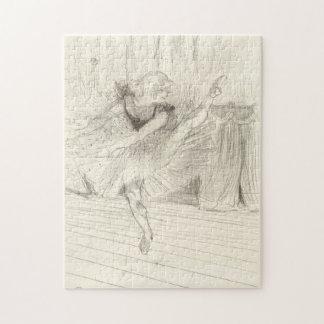 The Ballet Dancer, Toulouse-Lautrec Jigsaw Puzzles